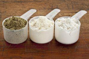 proteinpulver scoop