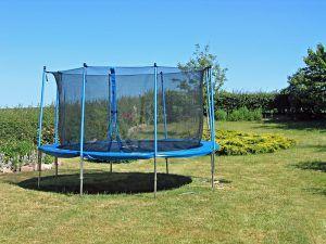berg trampolin med ben