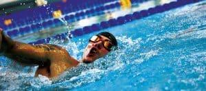 svømmetræning
