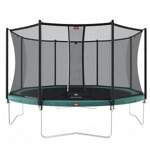 Berg trampolin på ben
