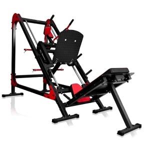 2 i 1 benpres og hack squat maskine MS-U106