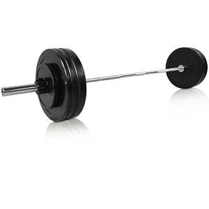 cPro9 Olympic vægtstangssæt på 51 kg.
